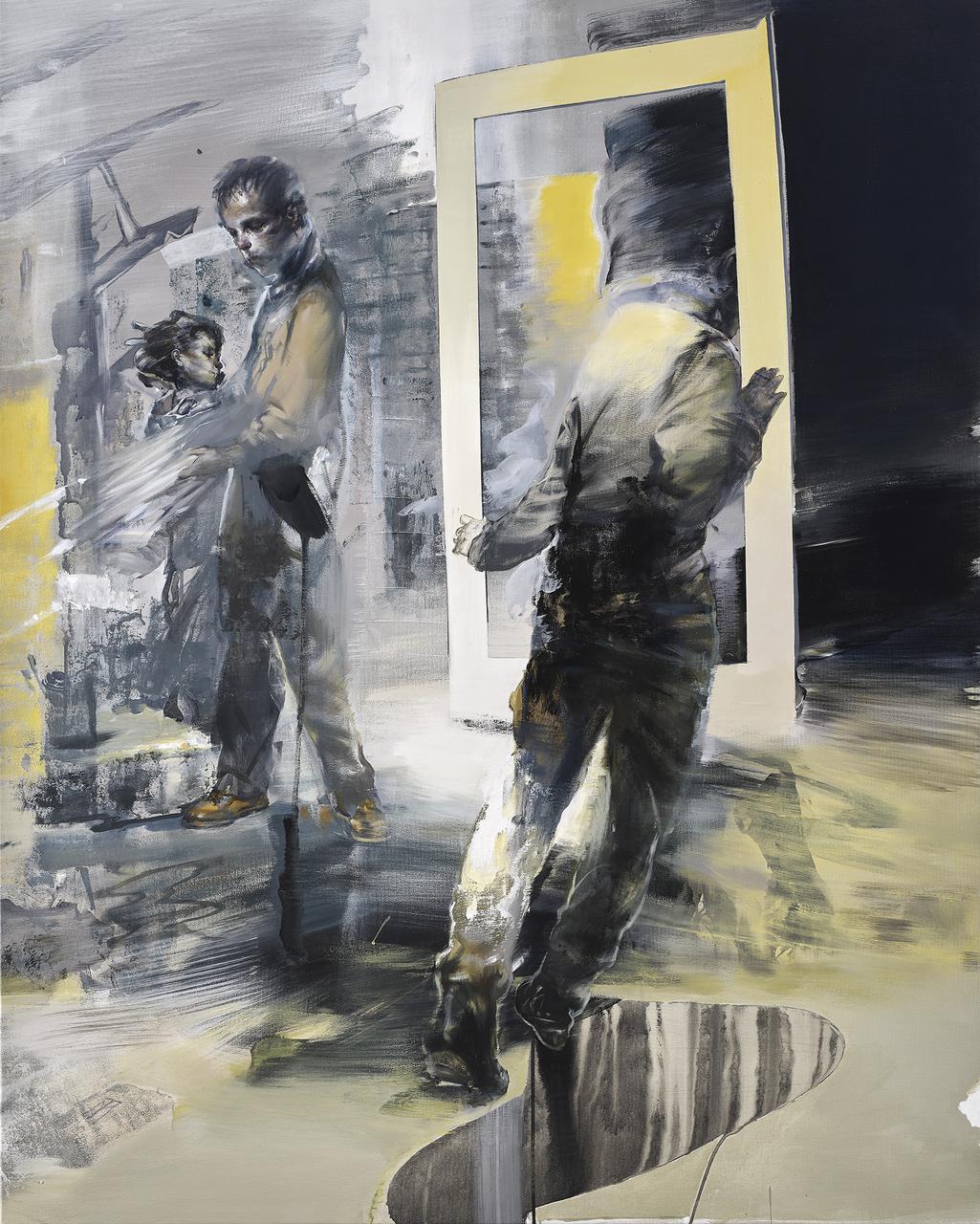 Tassos Missouras, Untitled, oil on canvas, 130 x 105 cm, 2017 Untitled, oil on canvas, 130 x 110 cm, 2017