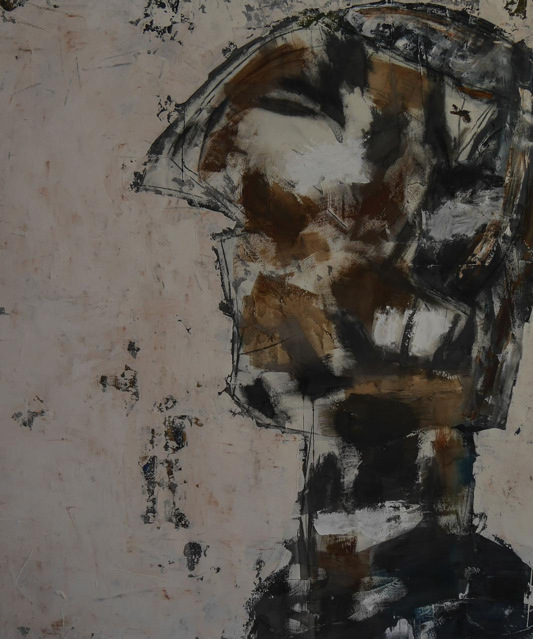 Miltos Psarros, 150 x 130 cm, acrylics and mixed media on canvas