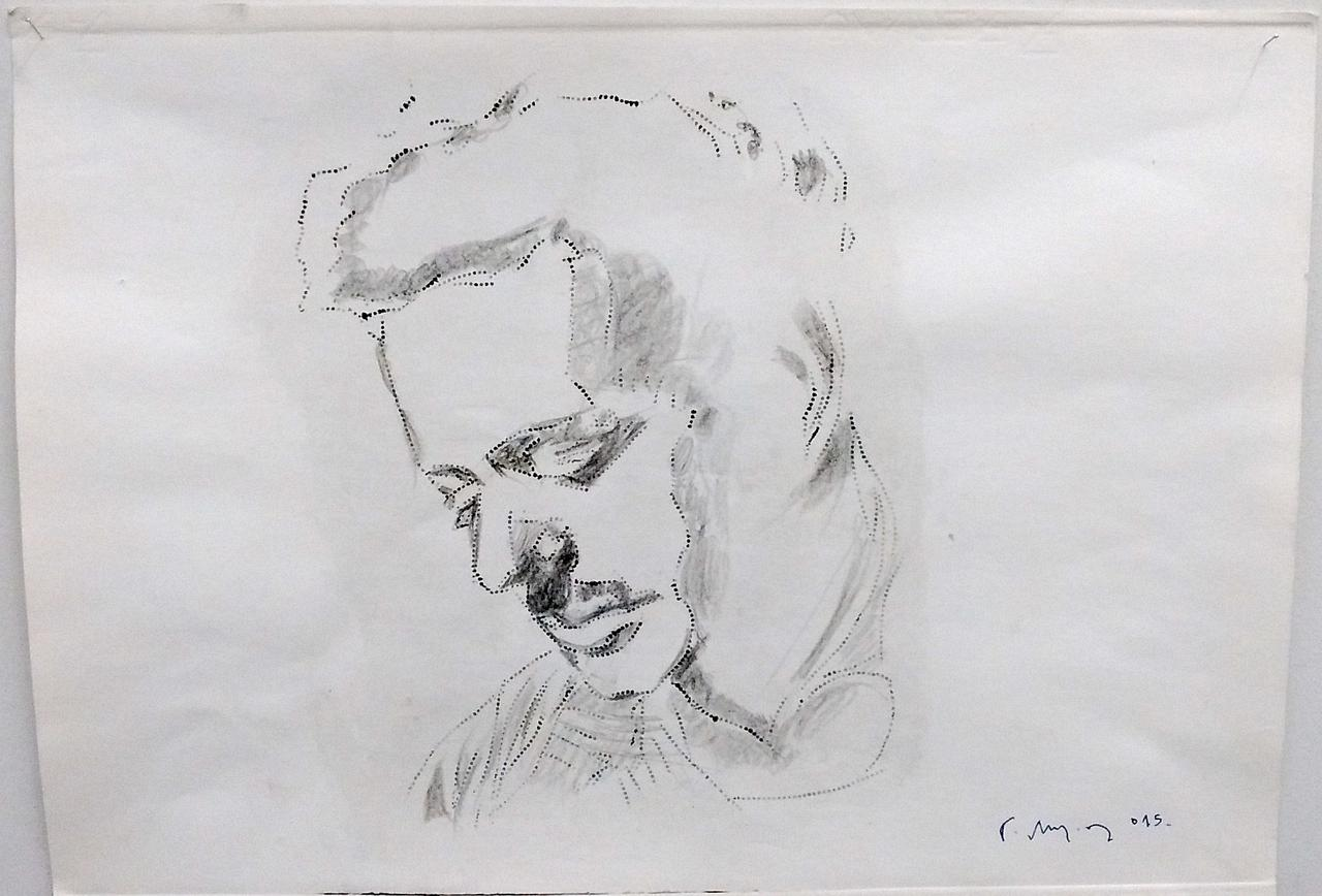 Yorgos Milios, Untitled, pencil on paper, 34 x 48 cm, 2015
