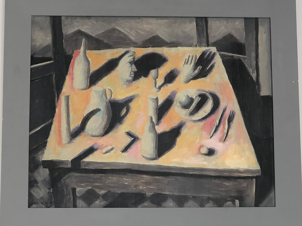 Shadows, acrylics on canvas, 50x65 cm