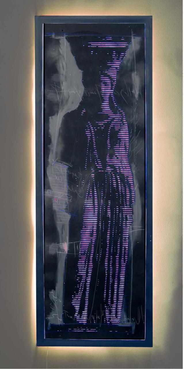 Christos Antonaropoulos, 70 x 200 cm
