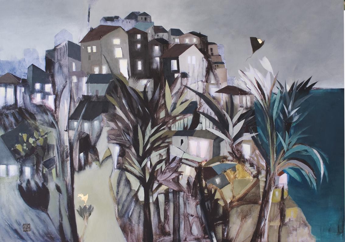 Secret Garden, 90 x 130 cm