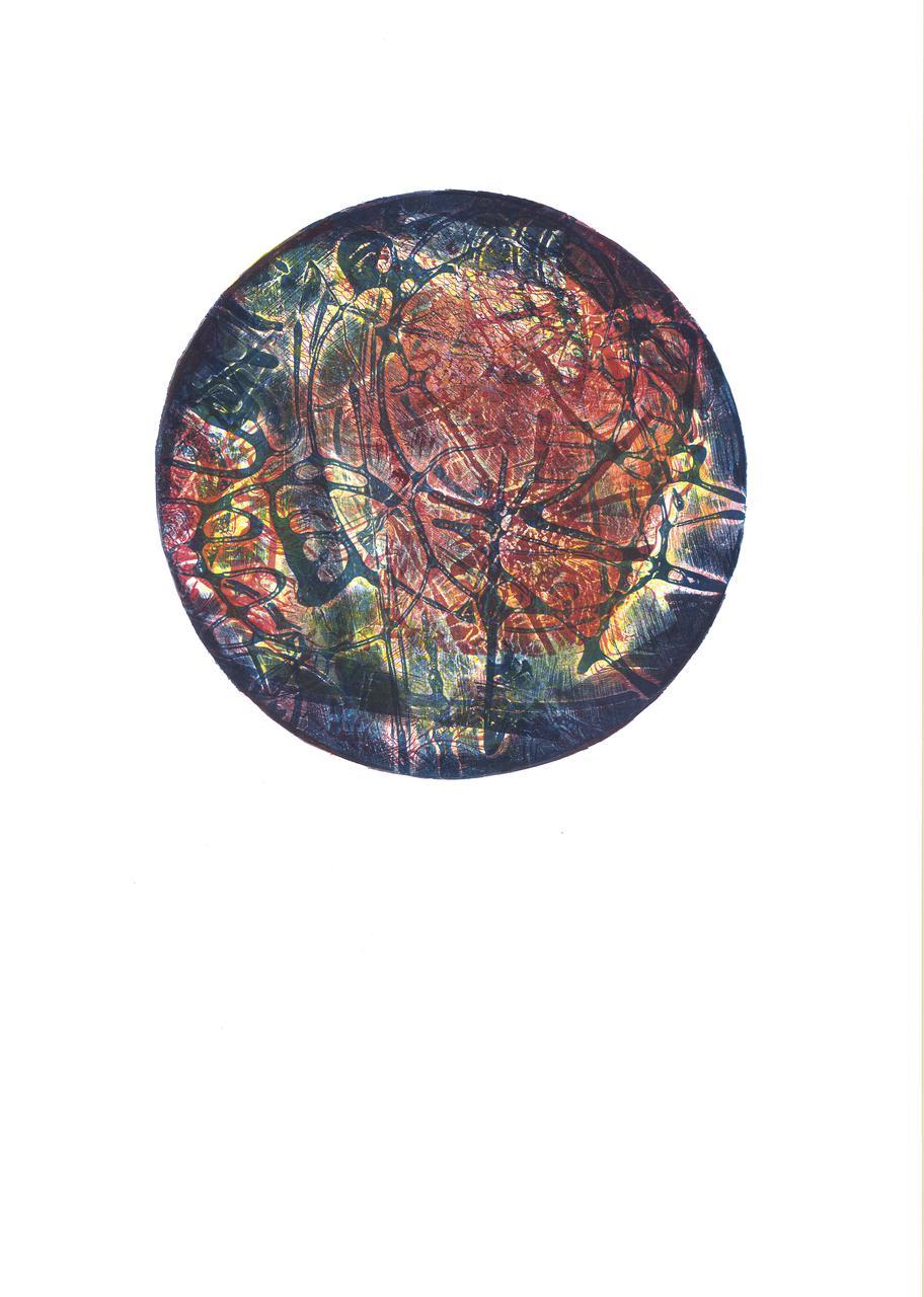 Caelum, 31 x 46 cm, 2014