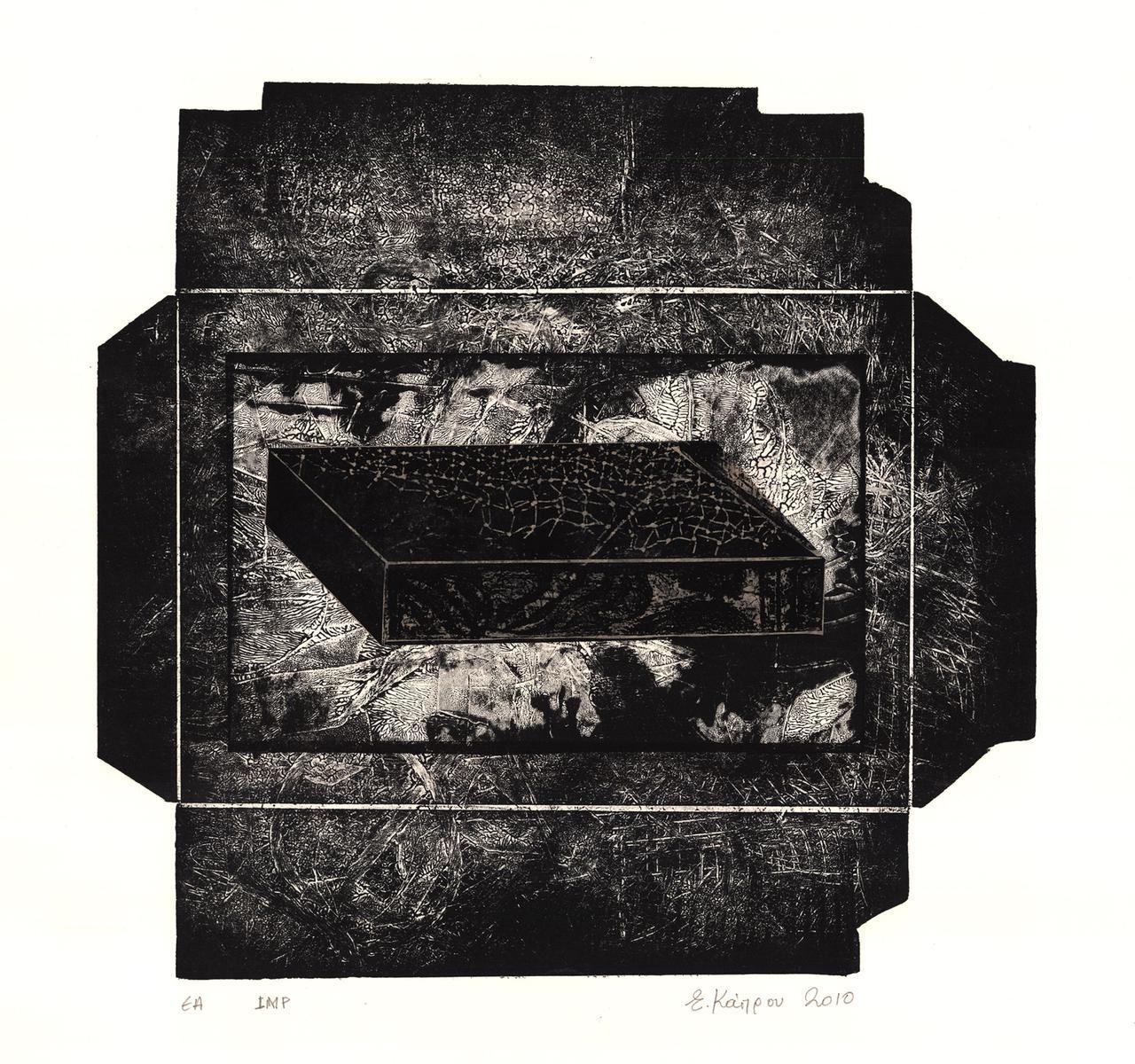 The black box of memory, 34.5 x 36.5 cm, 2012