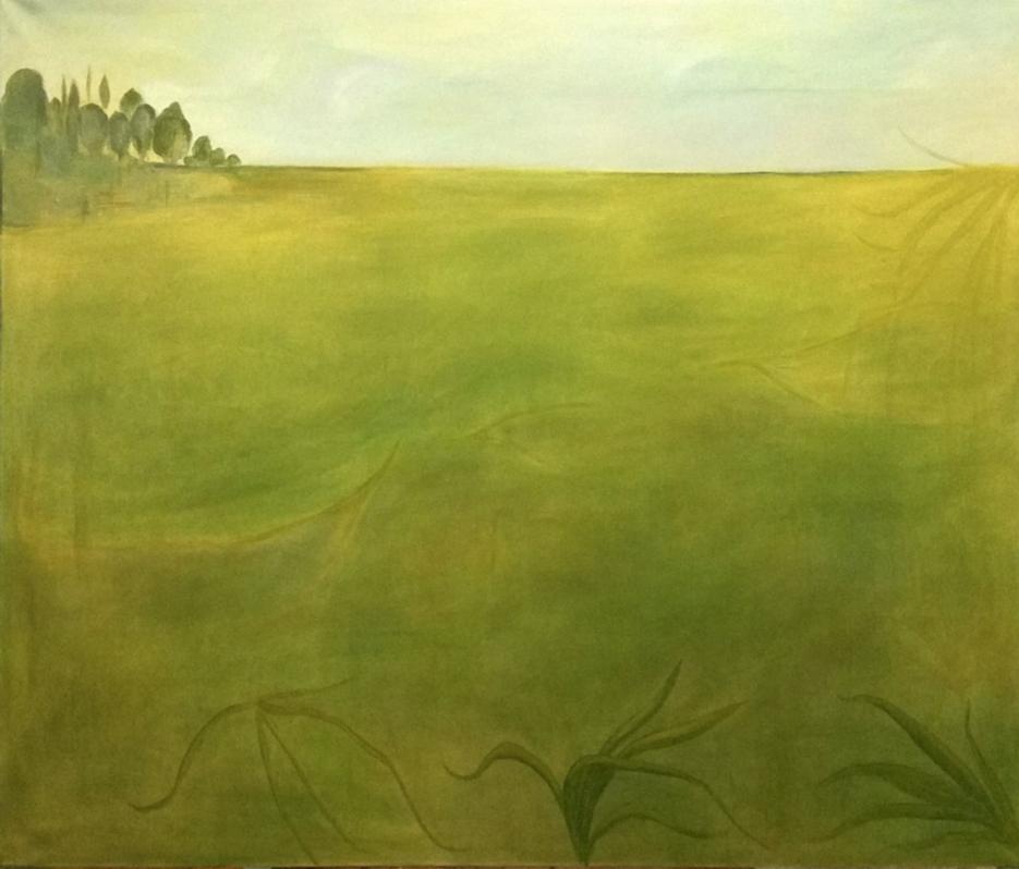 Andreas Ganas, Untitled, mixed media, 110x120 cm, 2019-20
