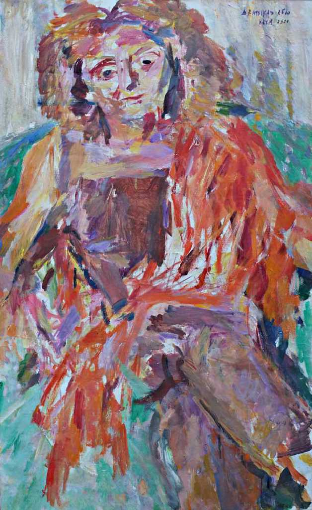 Apollon, K., oil on canvas, 145 x 89 cm, 2015