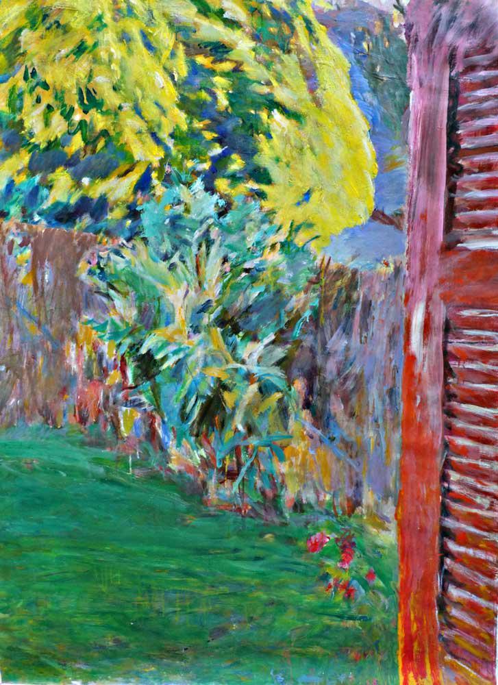 Landscape L., oil on canvas, 130 x 100 cm, 2016
