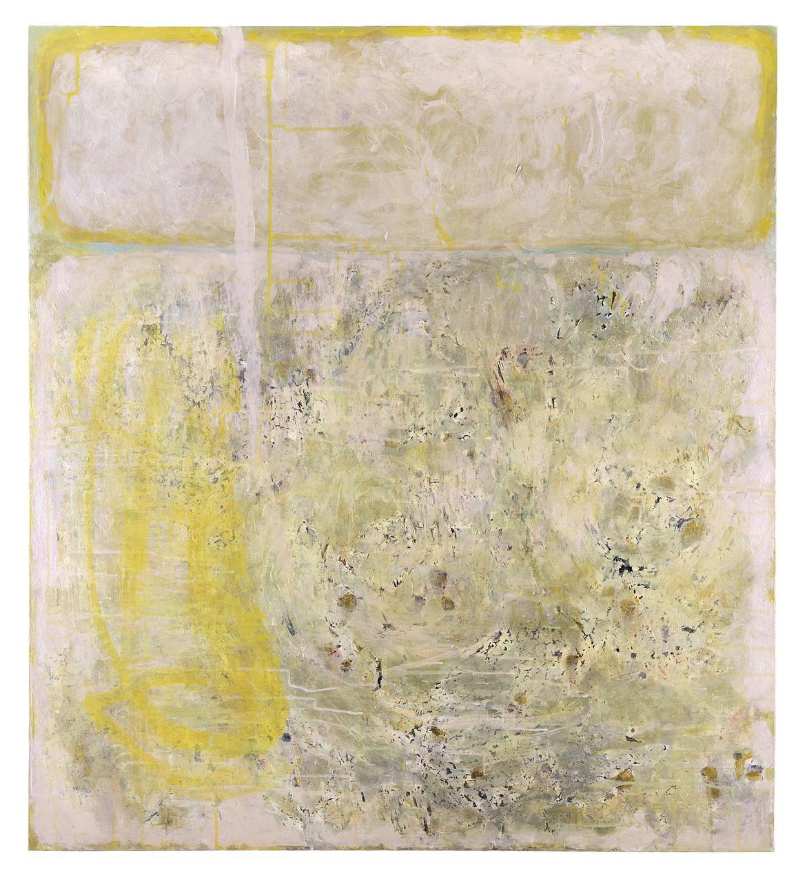 False Memory 1, 2018, acrylics on canvas, 110 x 100 cm