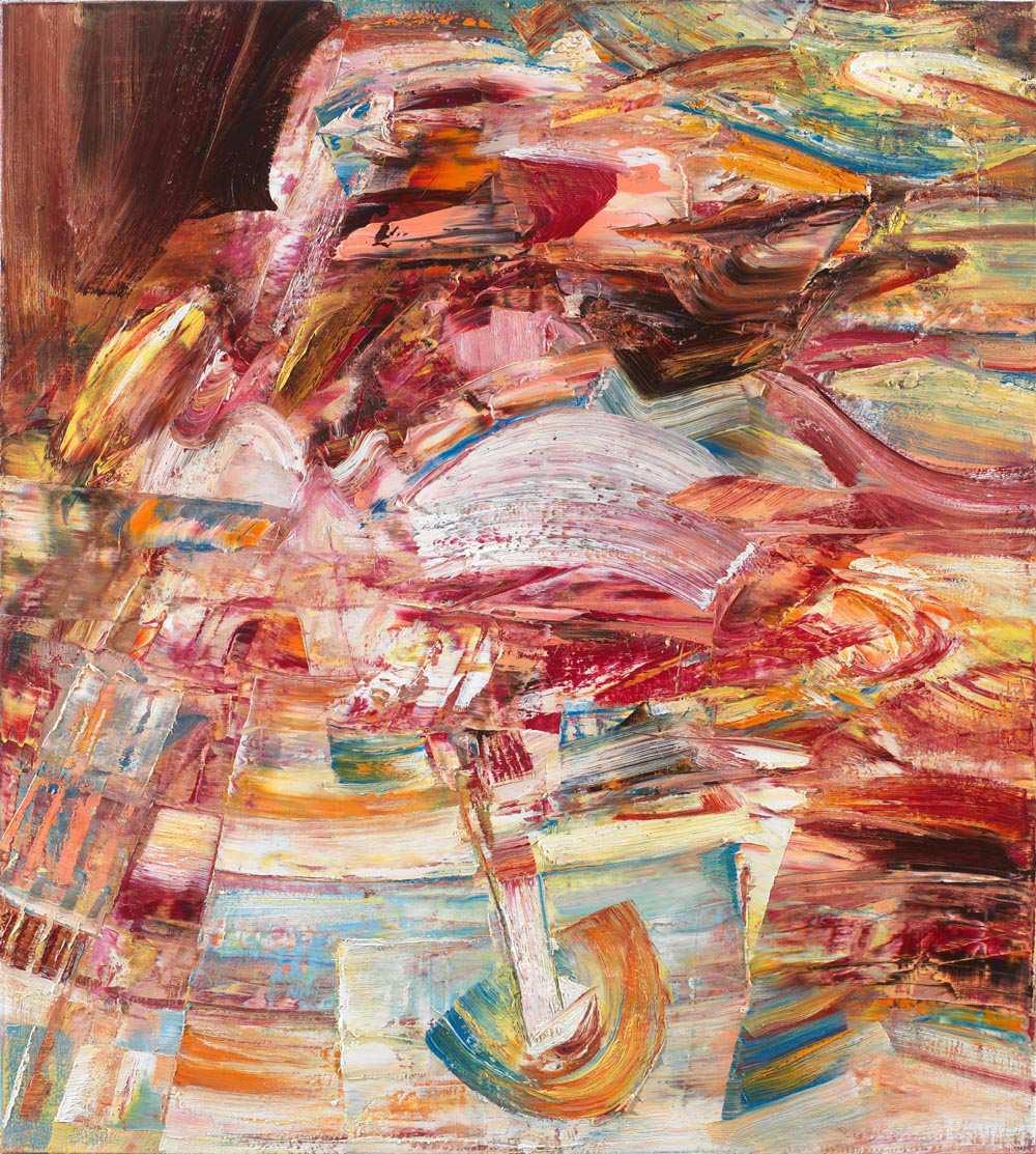 Mary Skinner, oil on linen, 90 x 100, cm, 2014
