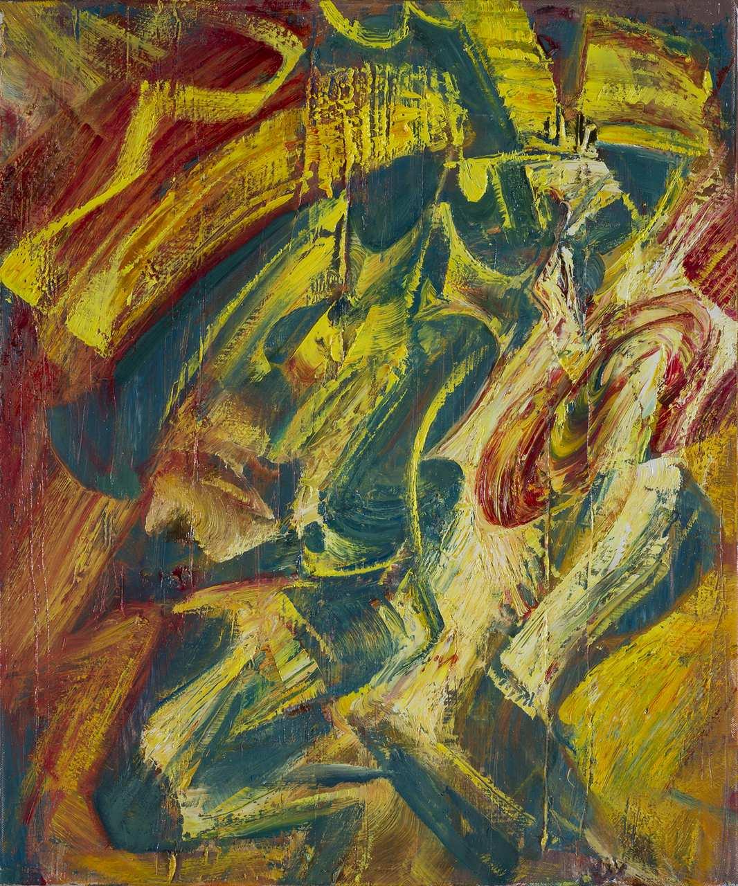 Royal, oil on canvas, 50 x 60 cm, 2017