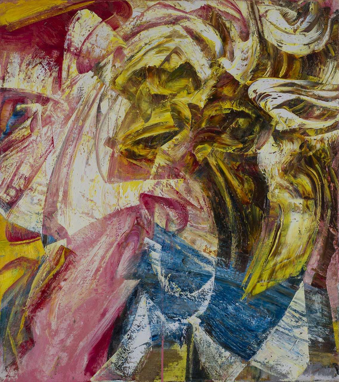 Snuff, oil on canvas, 90 x 100 cm, 2017