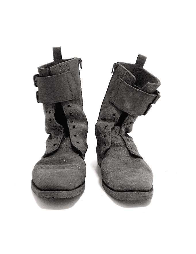 Chryssa Dourgounaki Boots, stoneware, 30 x 27 x 20 cm, 2010 Artist's Statement + Bio