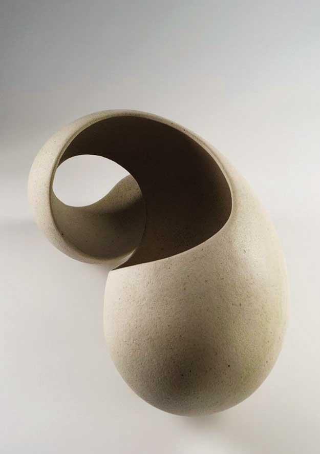 Iosifina Kosma Forms, installation, stoneware, patina, fired at 1260 C, 85 x 50 x 26 cm, 2014 Artist's Statement + Bio