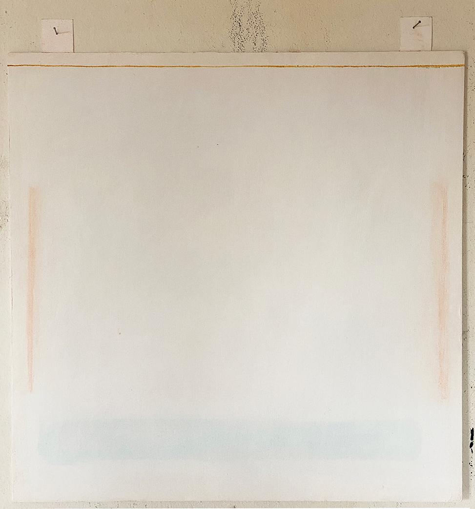 Ilias Papailiakis, A Quantitative Study of the Forest, oil paints on paper, 50 x 50 cm, 2021