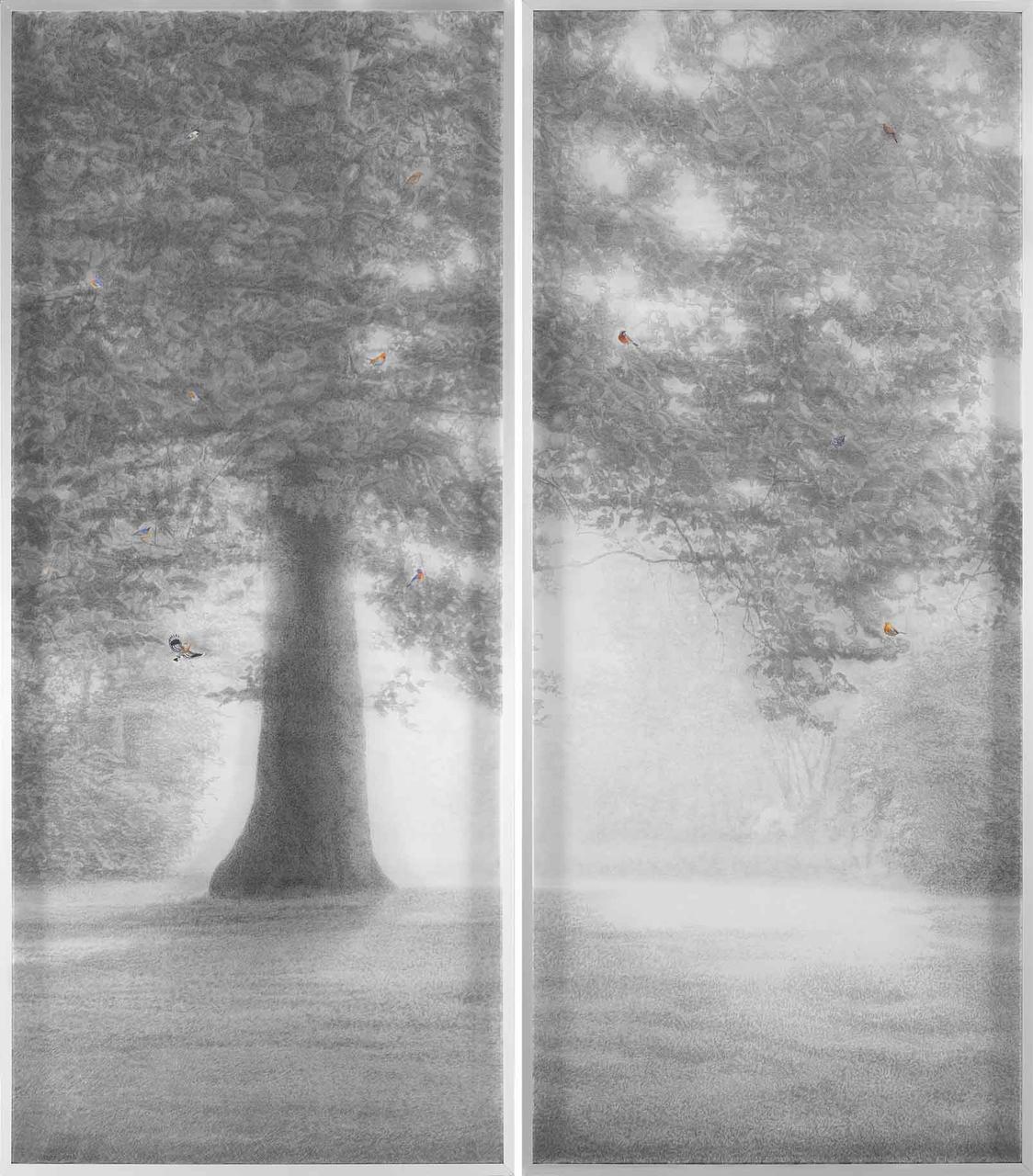 Light, diptych, 213 x 186 cm, 2015