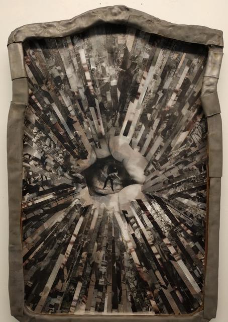 Black Holesun, mixed media, 75x50, 2019-20