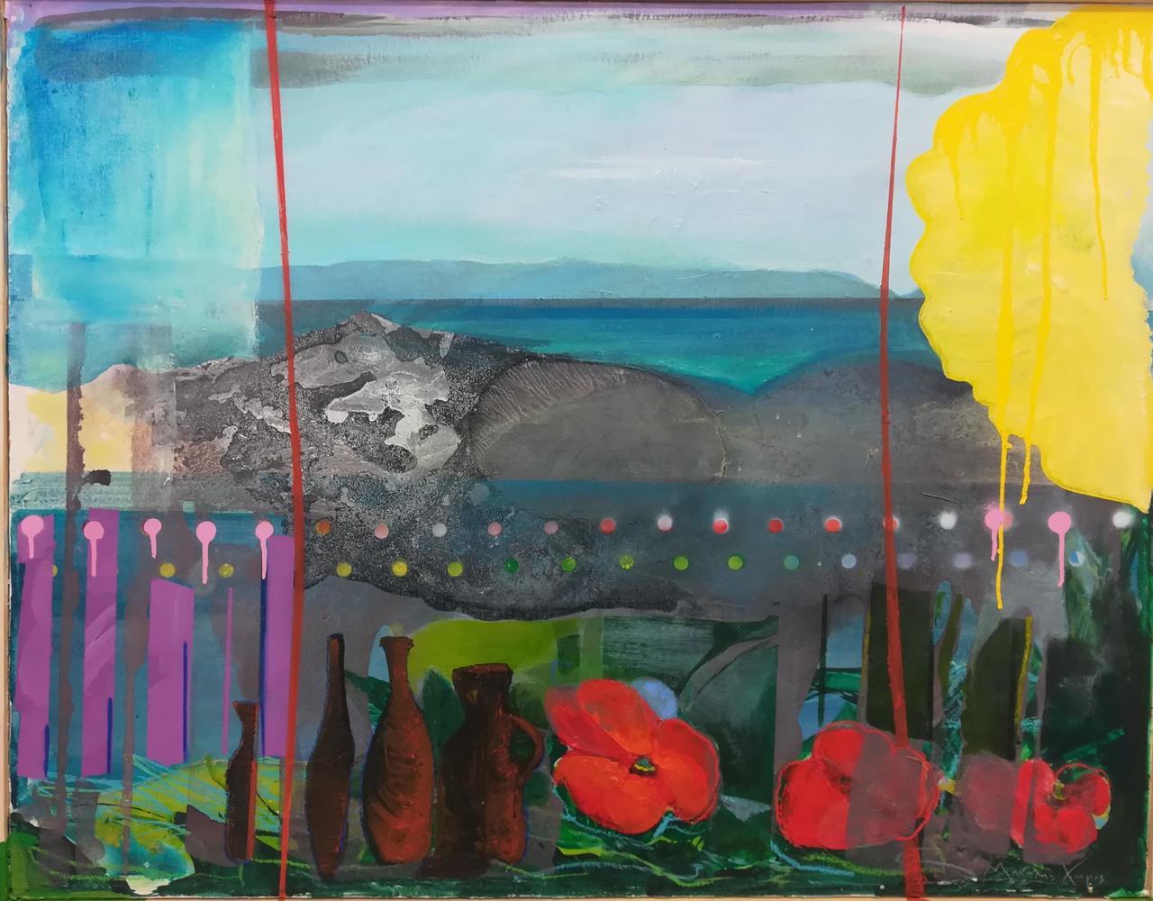 Manolis Charos, 85 x 106 cm