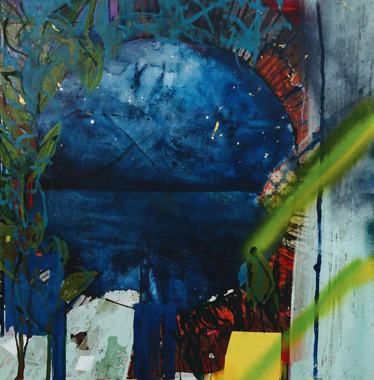Manolis Charos, 87 x 87 cm