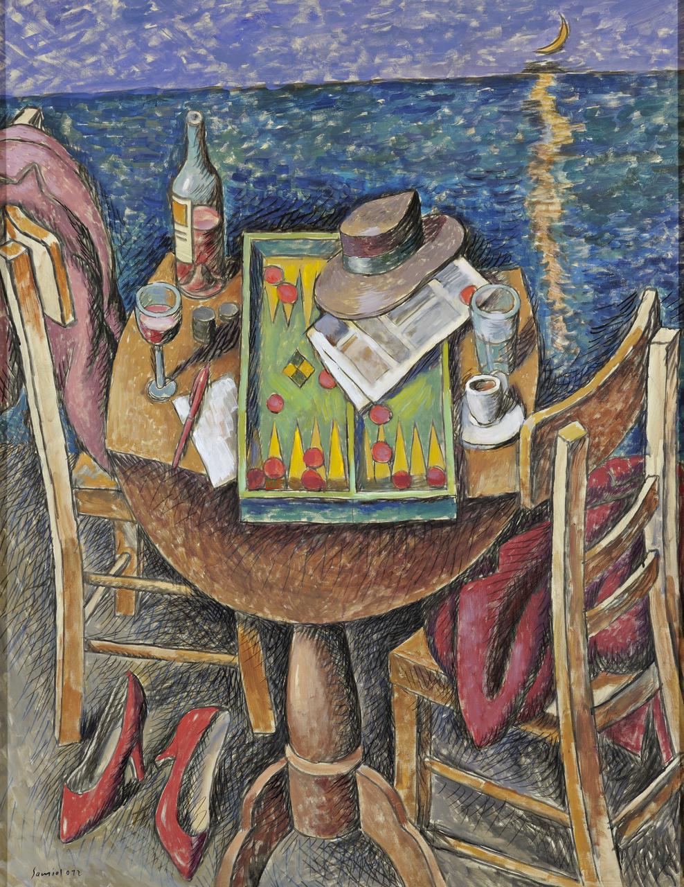 Pavlos Samios, 144 x 88 cm