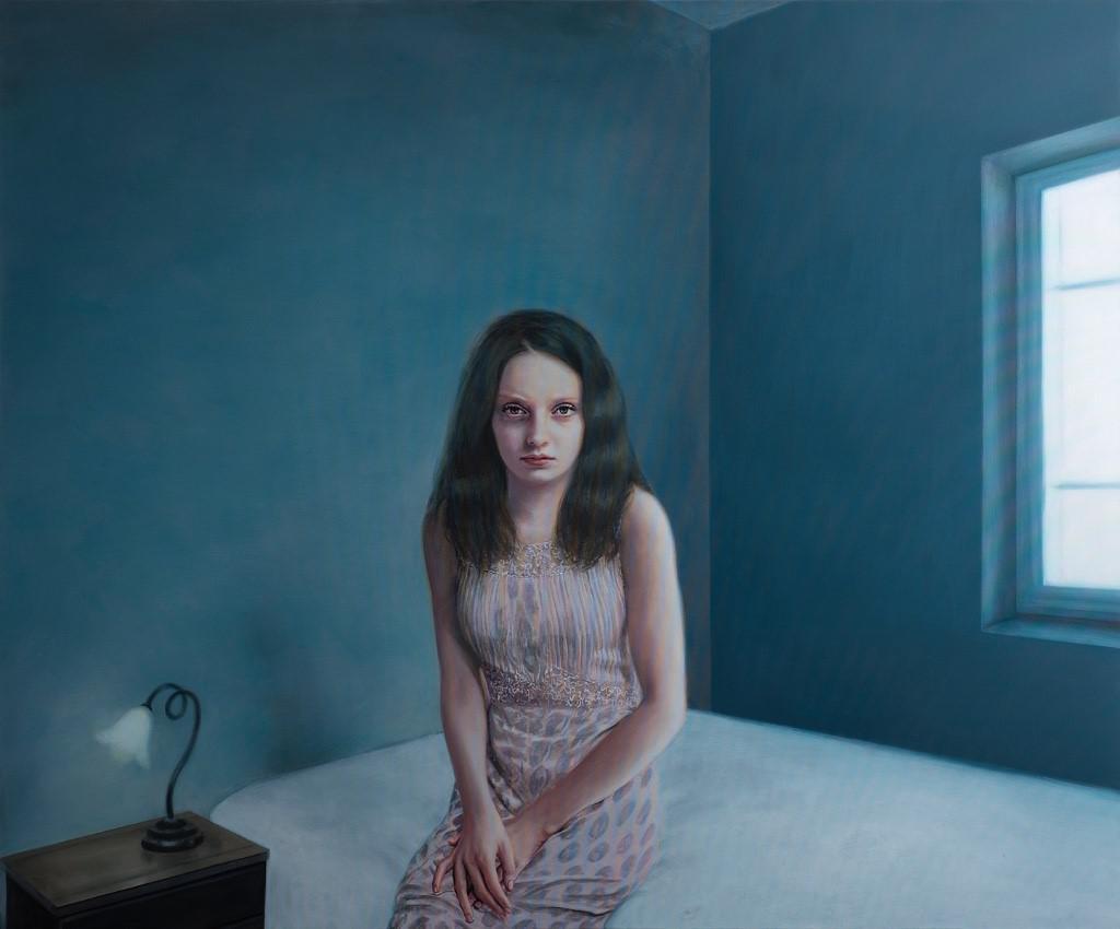 Good Girl II, oil on canvas, 150 x 180 cm, 2014