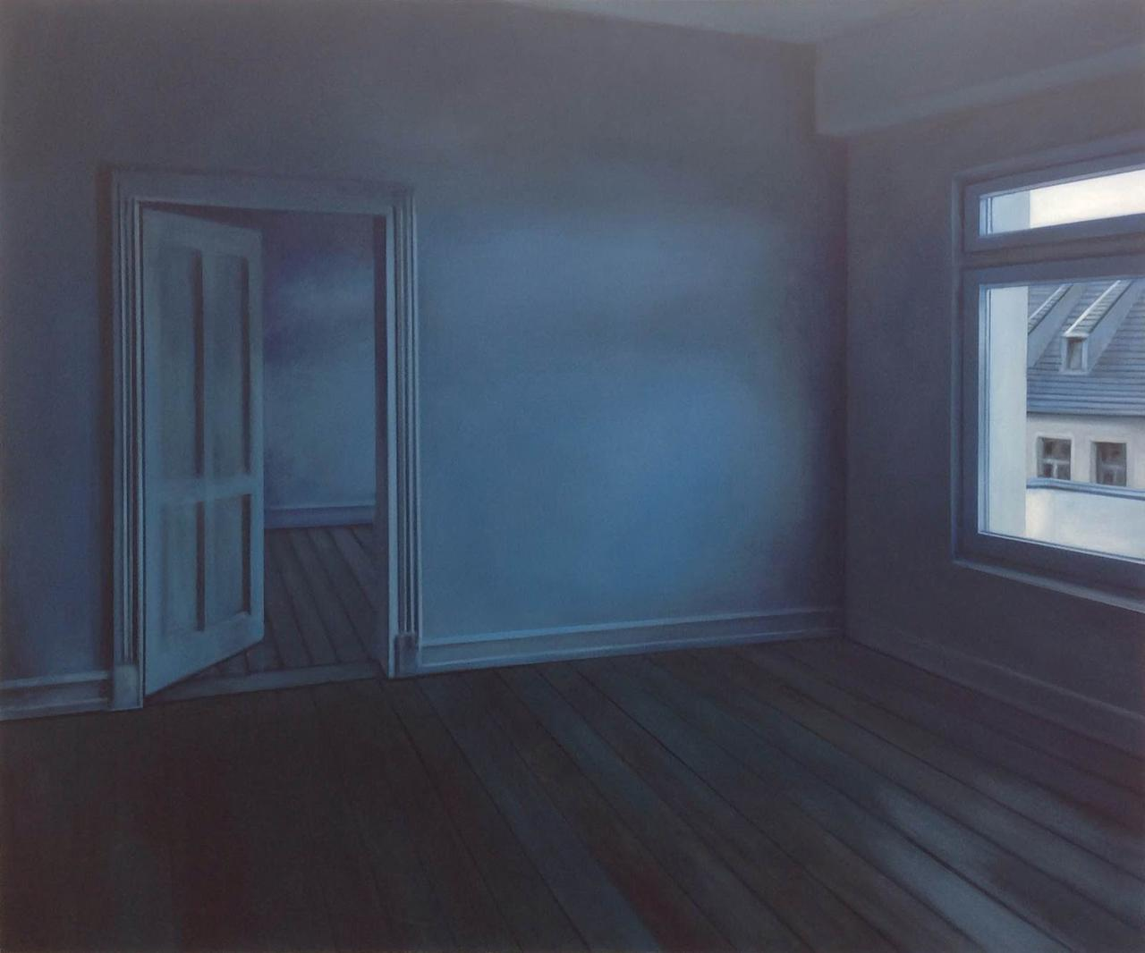 The apartment, oil on canvas, 150 x 180 cm, 2016