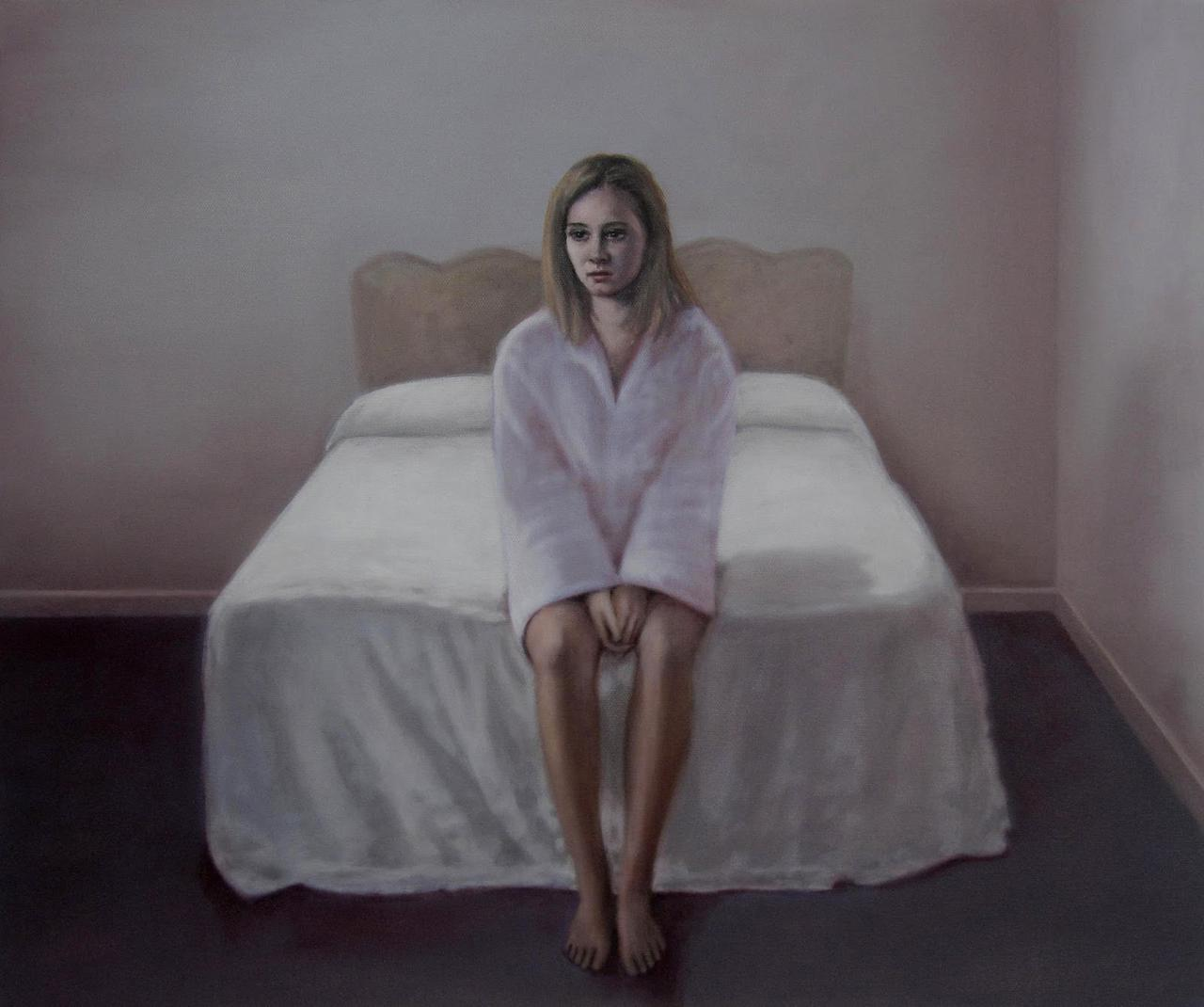 The Removal 15, oil on canvas, 50 x 60cm, 2010