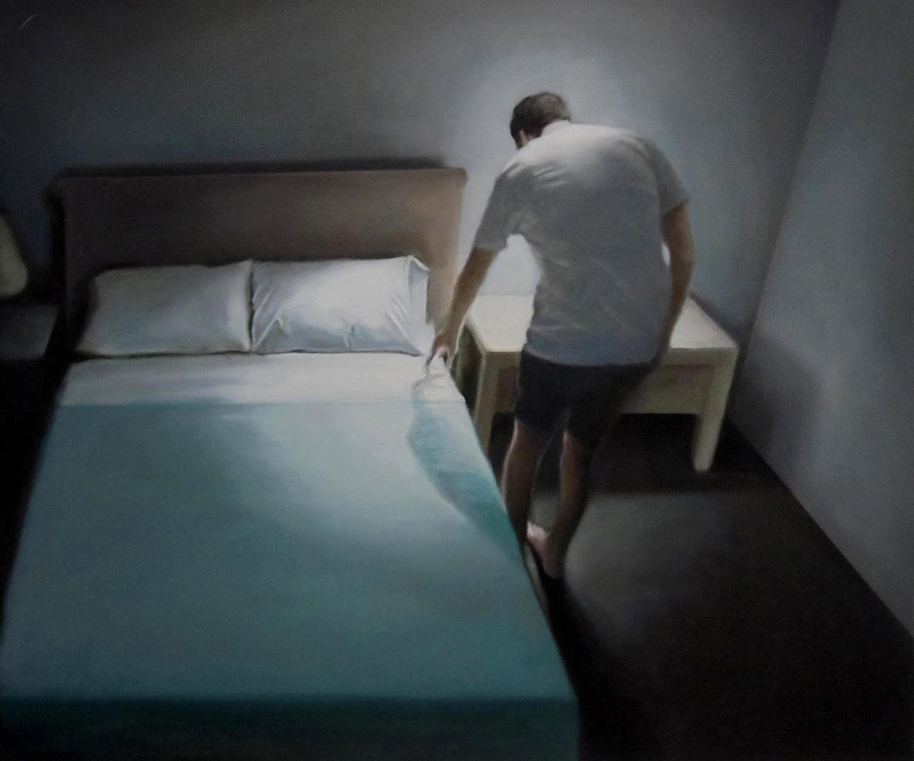 The Removal 16, oil on canvas, 50 x 60cm, 2010