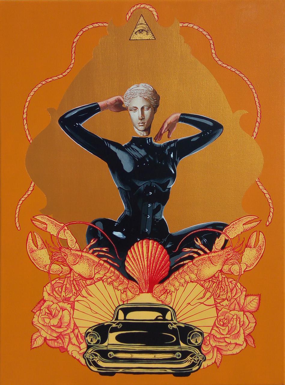 Matriarchy, acrylic on canvas, 60 x 80