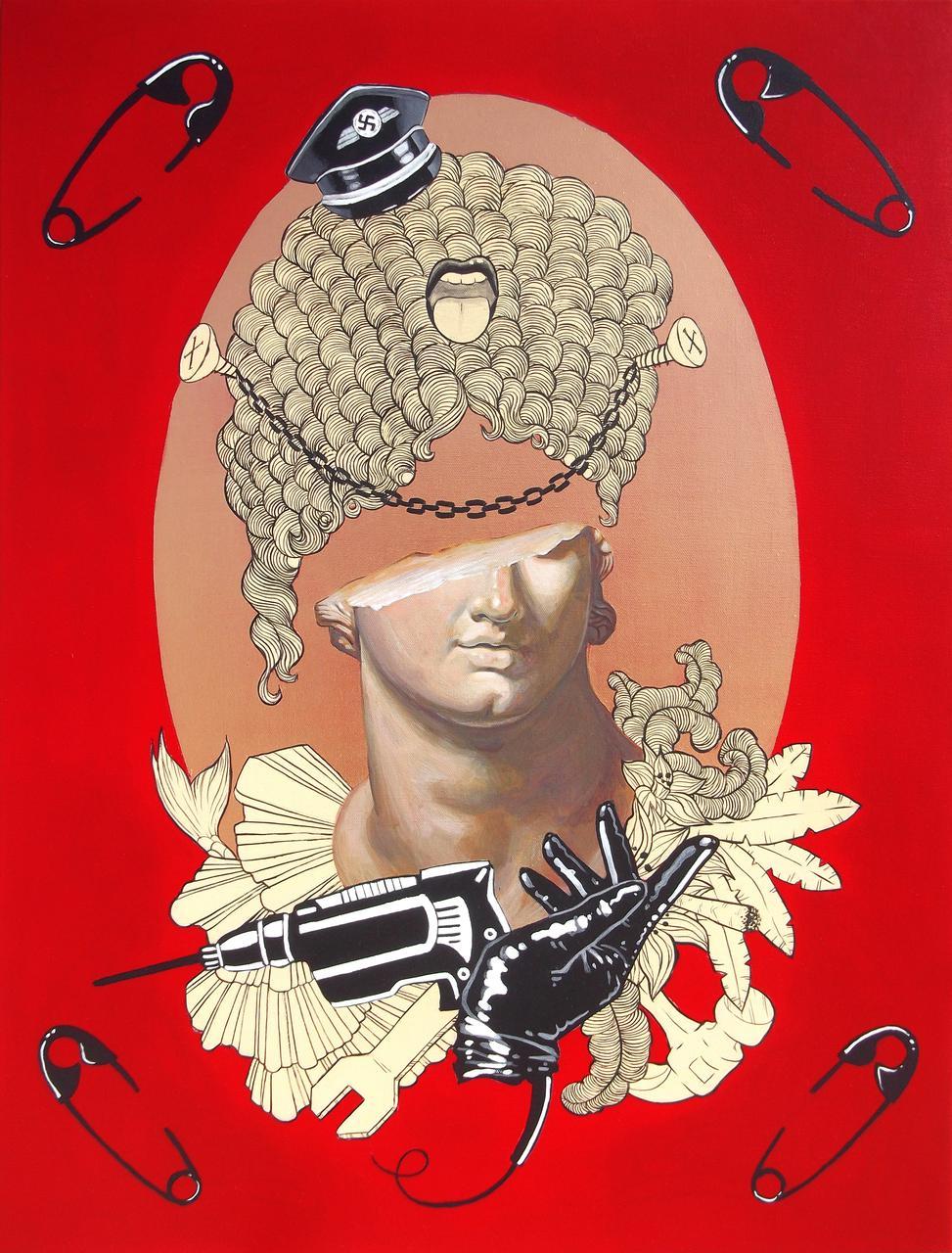 Western Civilization, acrylic on canvas, 60 x 80 cm