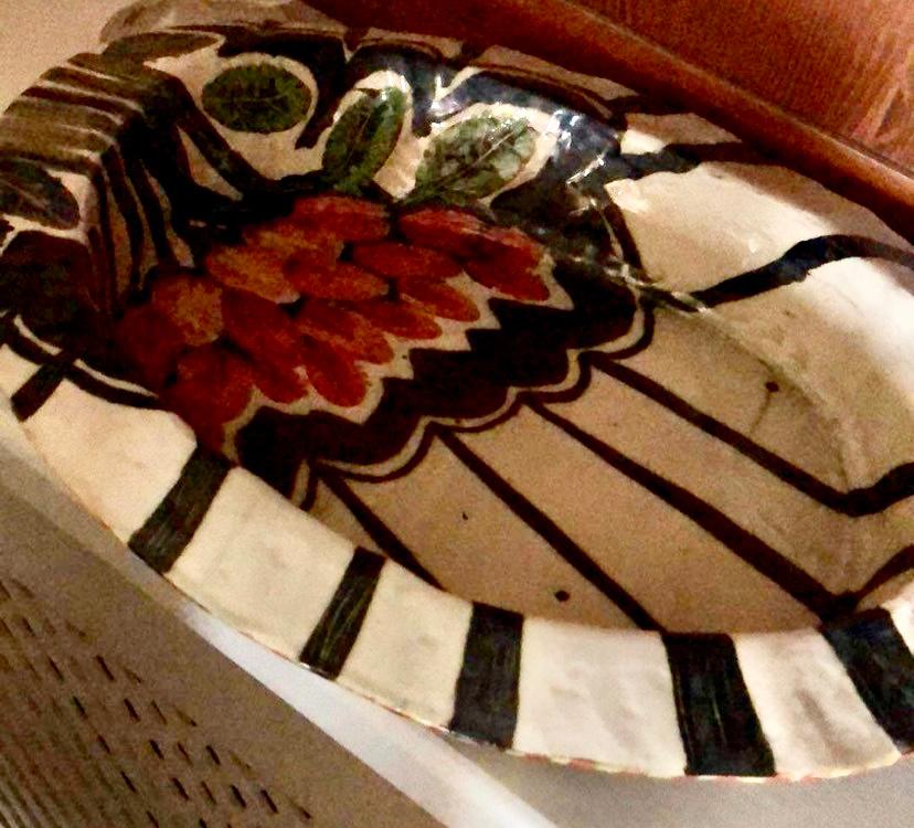 Katerina Giannaka, Platter, ceramic