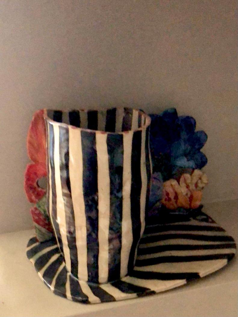 Katerina Giannaka, Vase I, ceramic