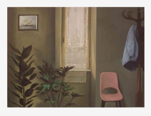 Mantalina Psoma, Untitled, 2007, oil on canvas, 60 x 80 cm
