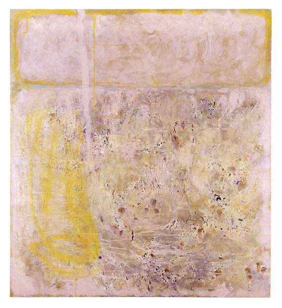 Katerina Mertzani, FALSE MEMORY 1, 110x100 cm, acrylic on canvas