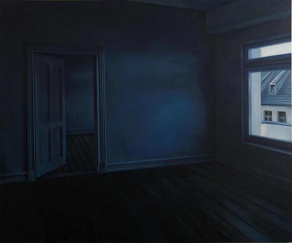 Mantalina Psoma, Apartment II, oil on canvas, 150X180cm, 2016