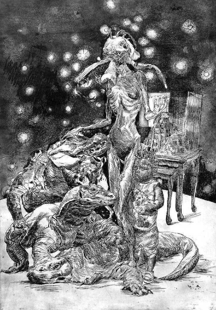 Vivi Papadimitriou, Majesty, 60 x 90 cm