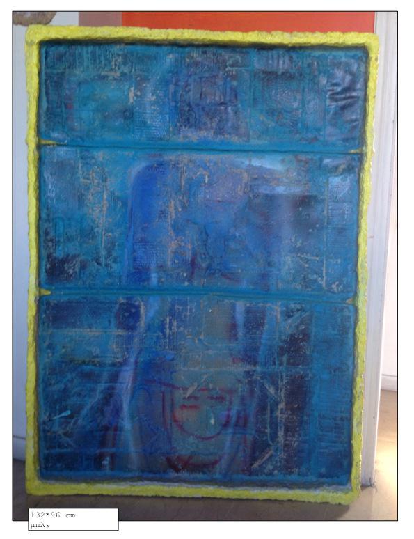 Blue, 132 x 96 cm